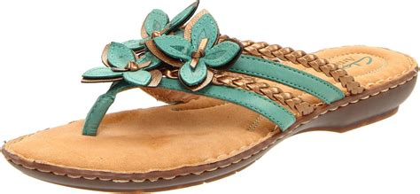 womens turquoise sandals clarks clarks womens brisk juniper sandal in blue