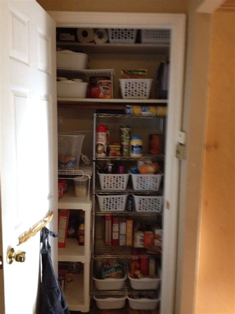 Closet Into Pantry Coat Closet Converted Into A Pantry Operation
