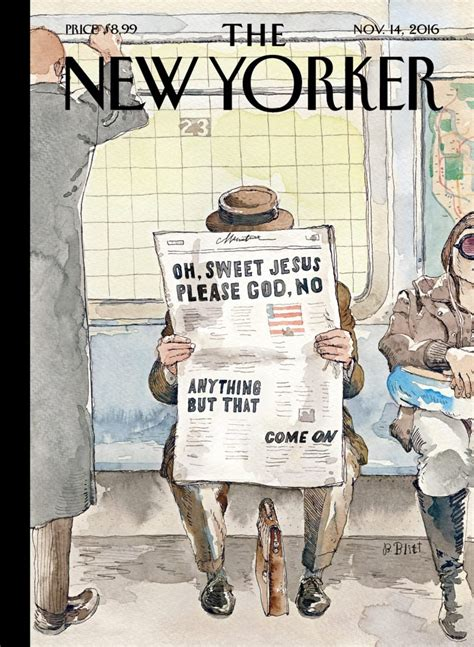 the best details from the new yorker s tmz profile november new yorker cover captures america s election