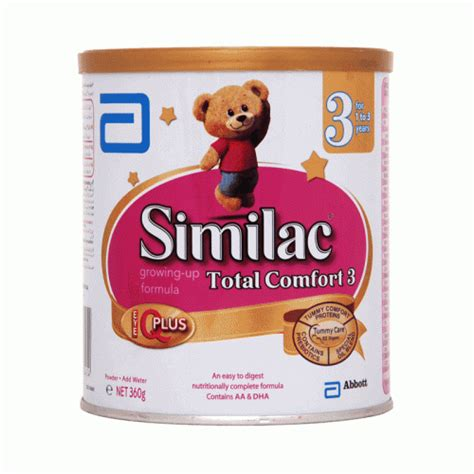 similac total comfort 3 similac total comfort 3 360gm 1 3 years baby milk