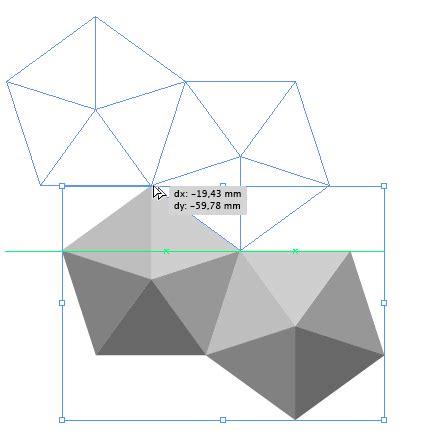move pattern in ai vektorgarten pentagonal pattern with illustrator