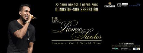 entradas para romeo santos a la venta las entradas para el concierto de romeo santos