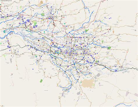 san jose traffic map city maps san jos 233