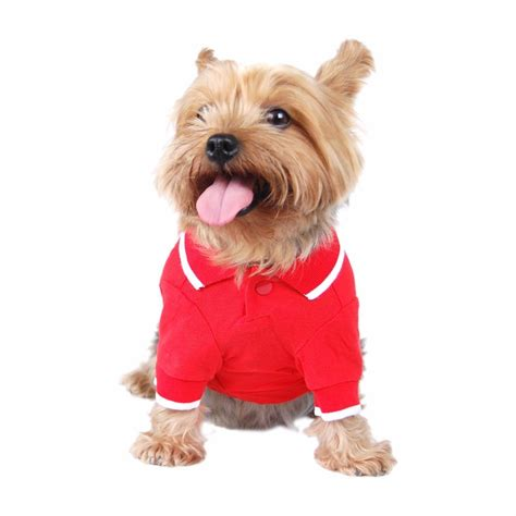 puppy shirts stripe polo collar shirts t shirts for dogs cats puppy animal clothes ebay