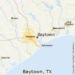 where is baytown texas on the map best places to live in baytown texas