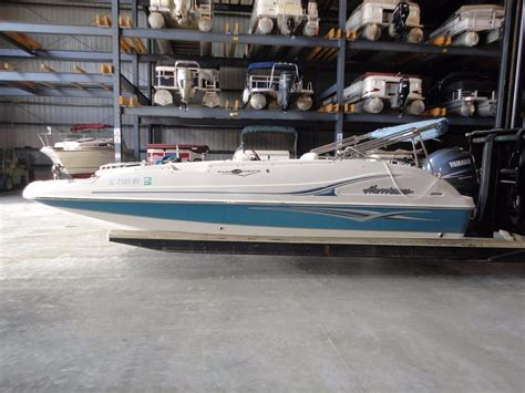 hurricane deck boats for sale in ga 2006 used hurricane 2006 fd 202 deck boat for sale