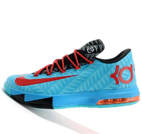 kevin durant shoes nike kd vi 6 n7 blue black kevin durant basketball shoes