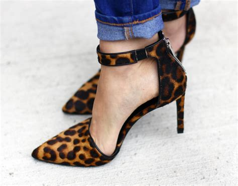 sheck wes boot leopard print shoes for fall 2014 nine west high heel