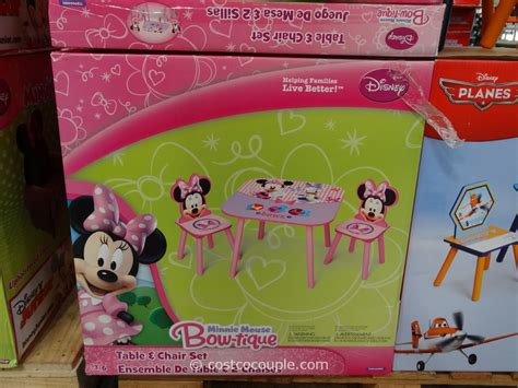minnie mouse armchair costco minnie mouse table chair set disney minnie mouse storage