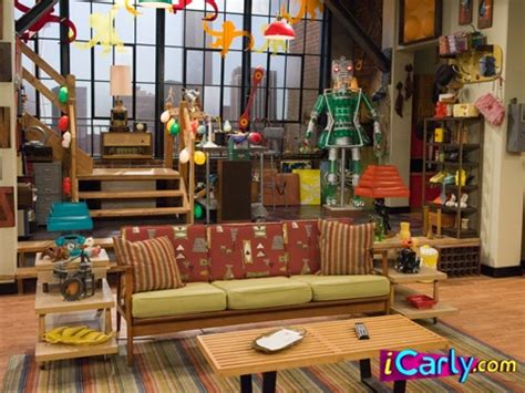 icarly room and spencer s living room http www icarly icarly my secret obsession