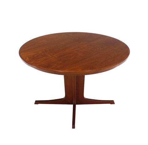 Dining Table With Two Leaves Mid Century Modern Teak Dining Table With Two Leaves At 1stdibs