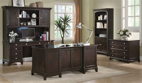 Home Office Suite Furniture Set Garson Executive Desk