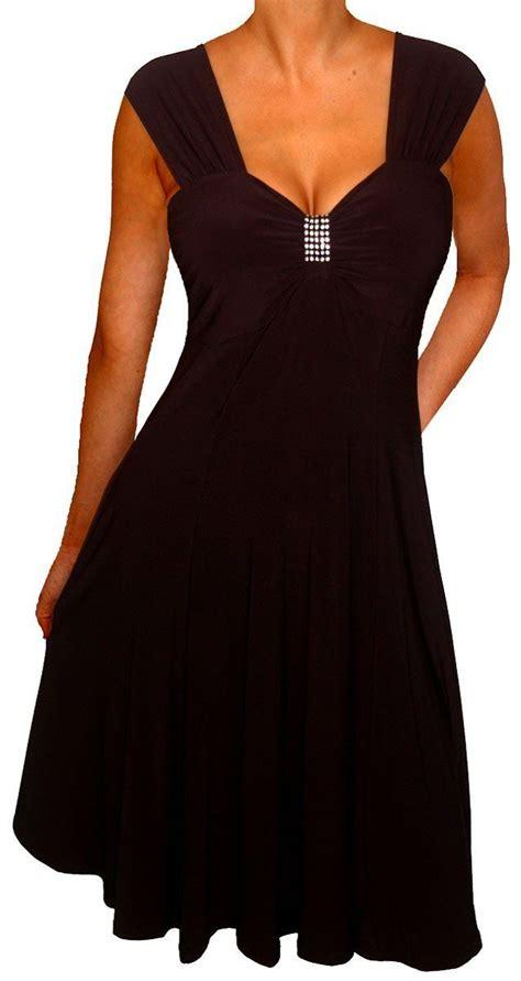 formal cruise wear plus size amazon com funfash slimming black empire waist cocktail