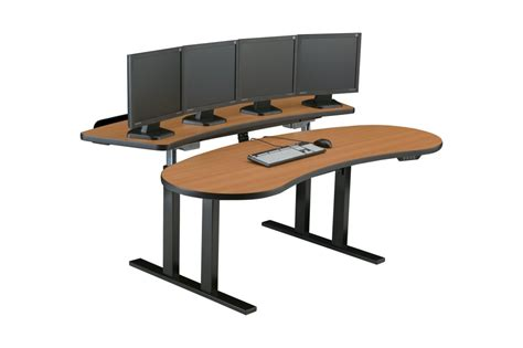 Adjustable Computer Desk Sit Stand Workstation Adjustable Computer Desk Ergonomic Desk In Houston California Usa
