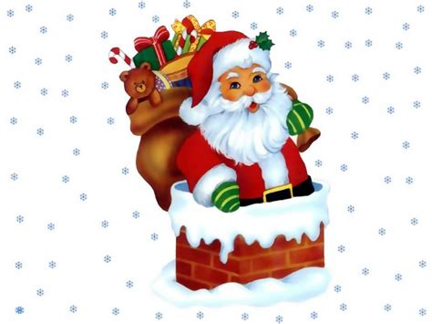 santa claus christmas wallpaper 2736346 fanpop