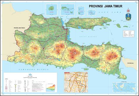 peta jawatimur bpn provinsi jawa timur