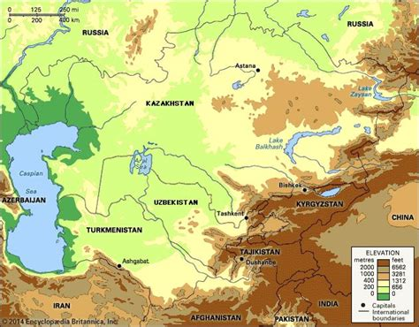 russia central asia map quiz central asia encyclopedia britannica