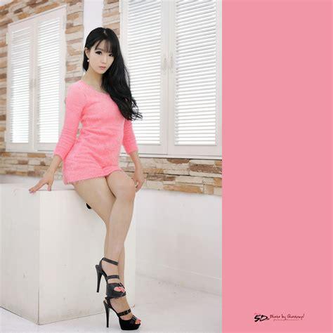 imagenes lindas sexis im soo yeon lovely in pink dress korean models photos