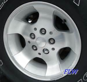 2001 jeep wrangler oem factory wheels and rims