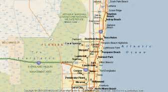 coral springs florida map map of coral springs