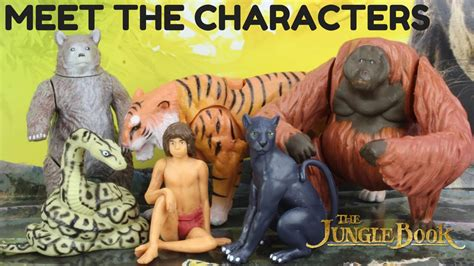 the jungle book characters pictures meet the jungle book characters from the new 2016 disne