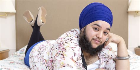 shorn hair among sikh youth sikh woman harnaam kaur embraces facial hair despite