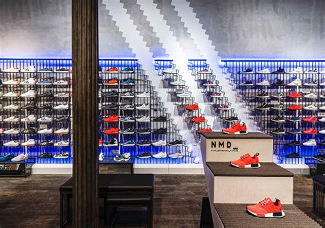 Nyc Original by Adidas Originals Soho Nyc Store Sneaker Bar Detroit