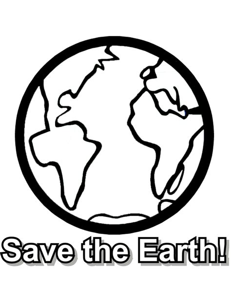 Earth Day Coloring Page Save The Earth Primarygames Save The Earth Coloring Pages