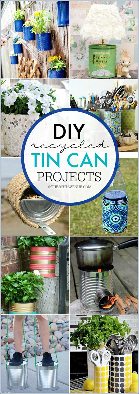 tin can crafts projects tin can hacks and diy ideas the 36th avenue