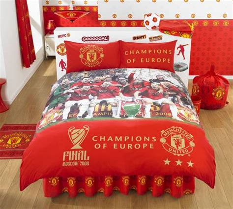 manchester united bedding manchester united bedding childrens bedding direct