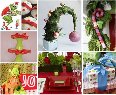 grinch party theme christmas pinterest
