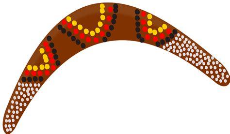 australian boomerang template free vector graphic boomerang aboriginal australia