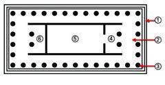 greek temple floor plan floor plans flashcards quizlet