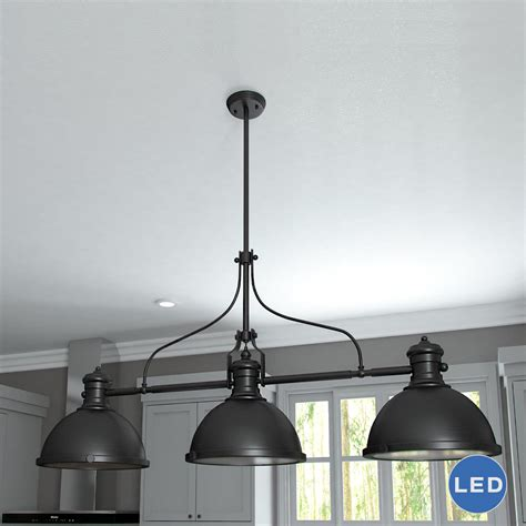 3 light island pendant vonnlighting dorado 3 light kitchen island pendant