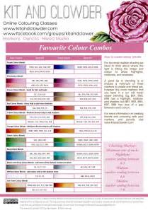 spectrum noir color chart spectrum noir color charts and pencil on