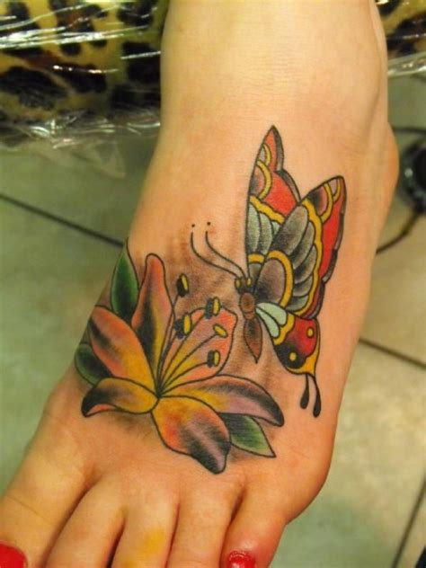 pretty tattoo designs for feet 25 butterfly foot design ideas for