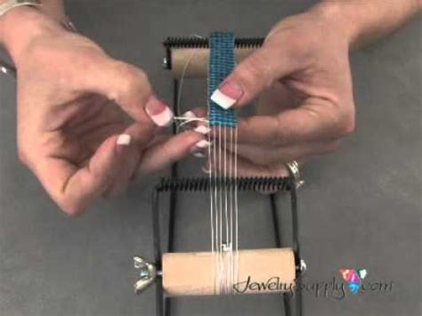 how to use a seed bead loom how to work with a bead loom