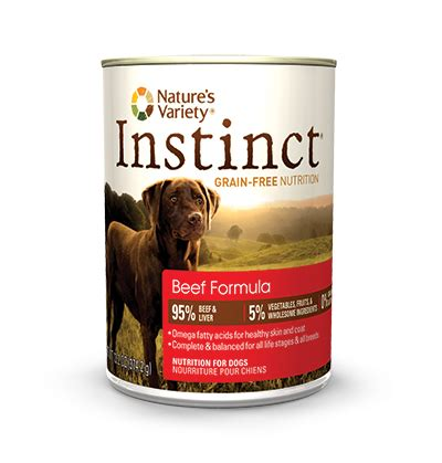 nature s variety food nature s variety instinct canned food beef treatsunleashed