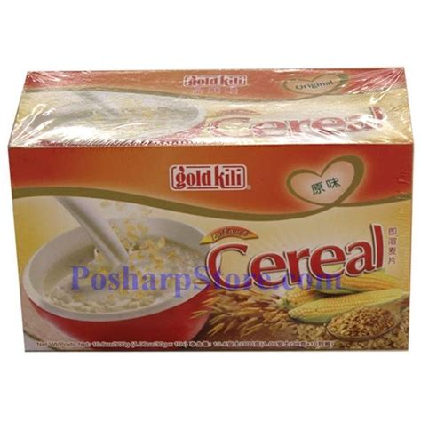 Instant Cereal Flavour gold kili instant cereal with original flavor 10 5 oz