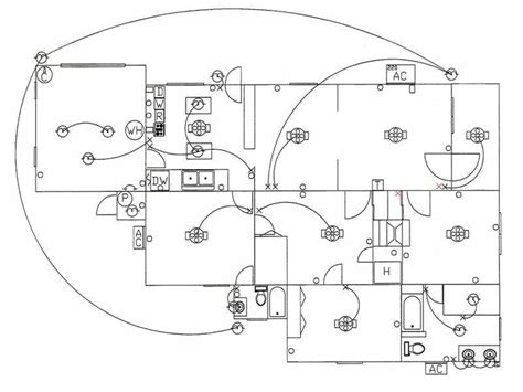simple house wiring diagram get free image about wiring