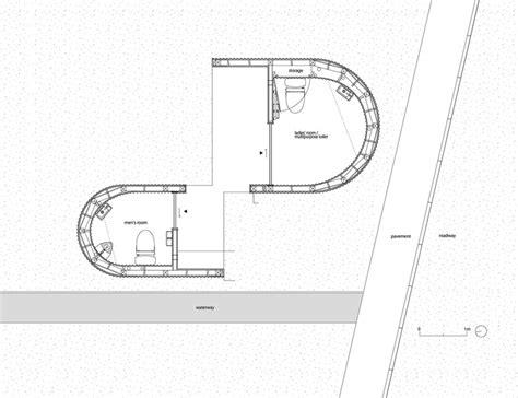 Public Toilet Floor Plan | isemachi public toilet kubo tsushima architects archdaily