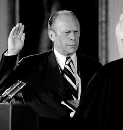 Ford President Ford Sworn In As President 40 Years Ago Today David Hume