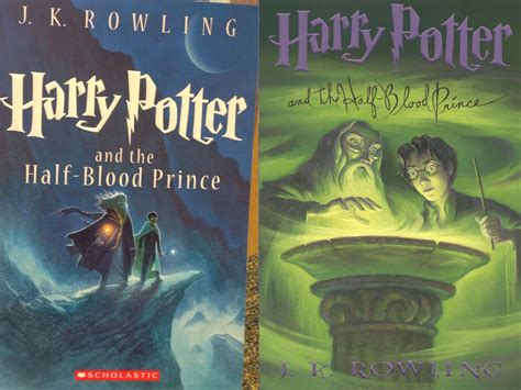 harry potter and the half blood prince series 6 the awesome cover artwork for harry potter s 15th