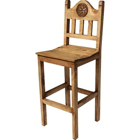 very tall bar stools rustic pine collection tall lone star bar stool ban532