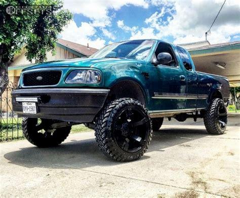 1998 ford f150 lift kit wheel offset 1998 ford f 150 aggressive 3 5