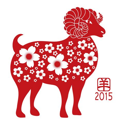 new year 2015 year of the sheep or goat happy new year the year of the sheep ram goat