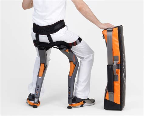 Chairless chair a wearable device that will let you sit anywhere you want bt