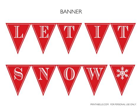 Free Winter Wonderland Party Printables Catch My Party Winter Banner Templates