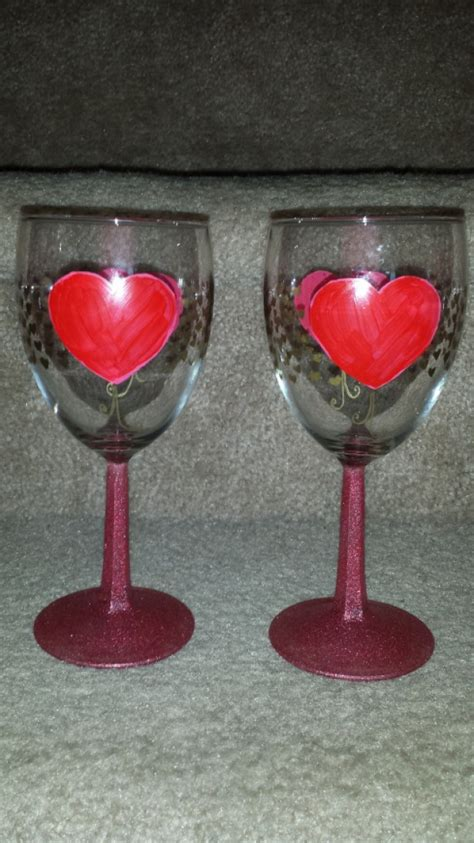 valentin wine wine glass set aftcra