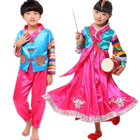 Hanbok Import Korea Free Sokchima 25 aliexpress buy sale children s hanbok korea traditional hanbok costume
